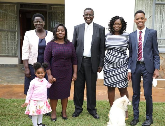 Retired Chief Justice David Maraga with his family!