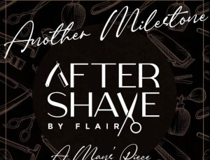 Betty Kyalo's Aftershave by Flair logo.Photo Credit: Instagram/bettymuteikyallo