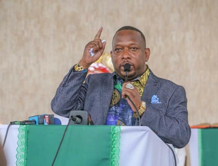 Former Nairobi Governor Mike Sonko IN A Past Function.Photo credit: Instagram/mike.sonko